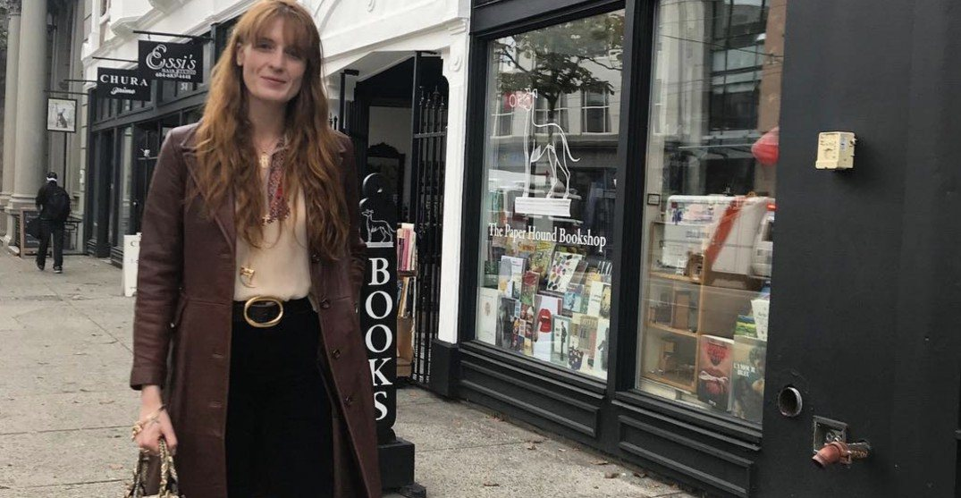 Indie-rock queen Florence Welch shares her love for this Vancouver bookstore