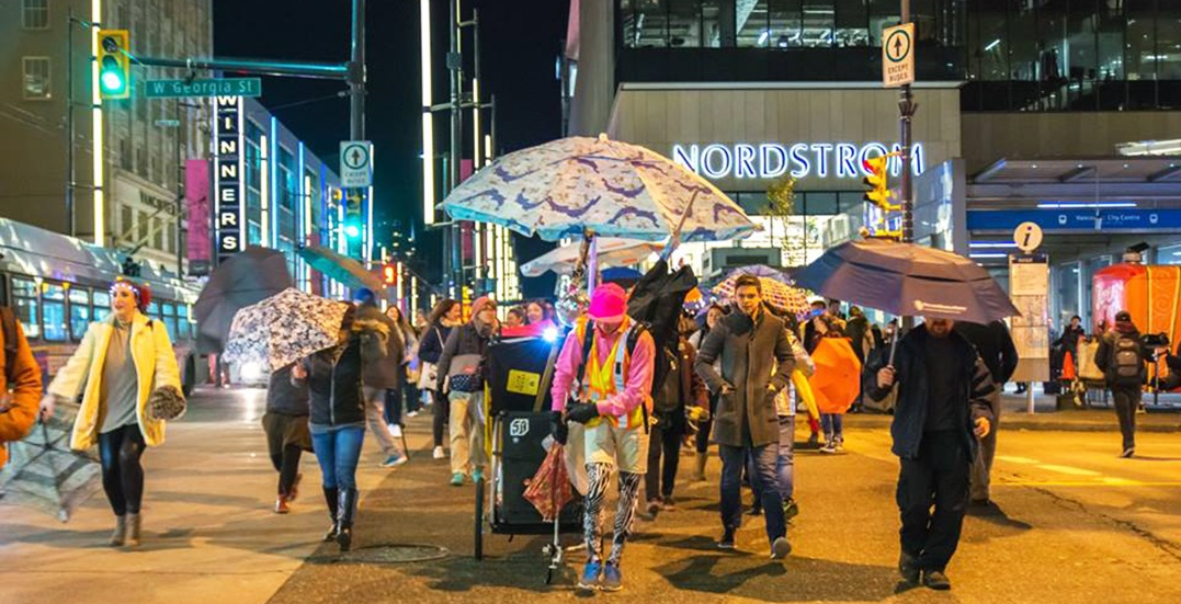 Celebrate the rain with Vancouver's 2nd annual umbrella party this month