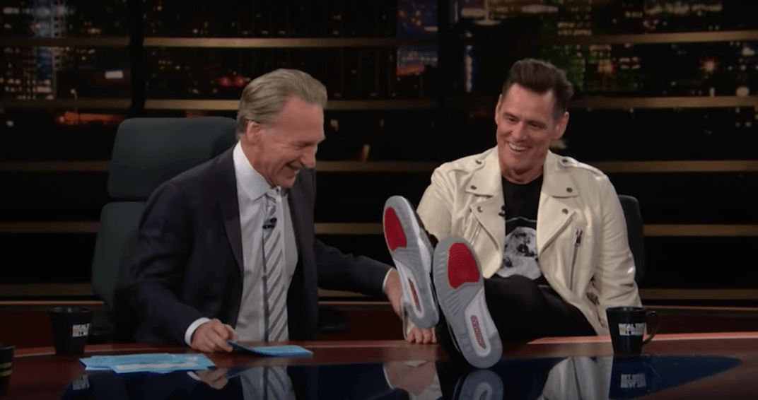 Jim Carrey praises Canada's health care system on Bill Maher (VIDEO)