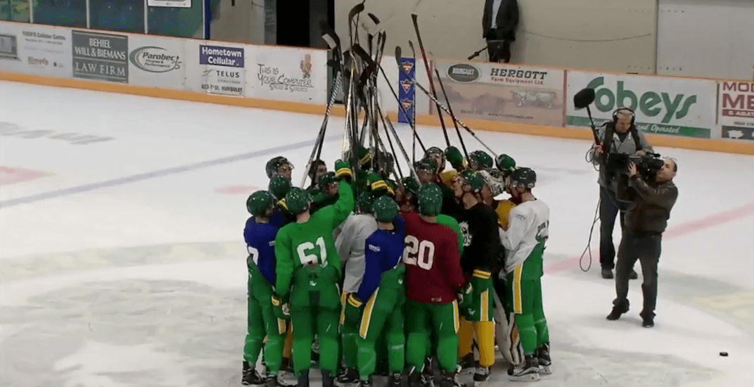 Humboldt Broncos play their first game since the crash this week