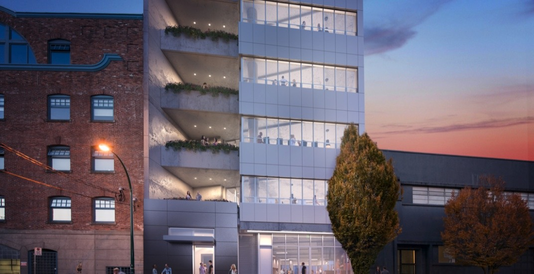 Construction begins on Bench Railtown office building