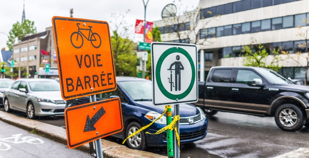 Quebec Transport Ministry agrees to replace French-only road signs with pictograms