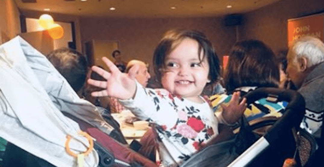 This toddler received 1.1% of voter support in a Vancouver election poll
