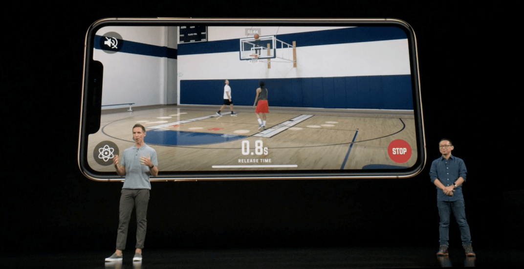 Steve Nash helps launch 'revolutionary' basketball app at Apple iPhone XS event (VIDEO)