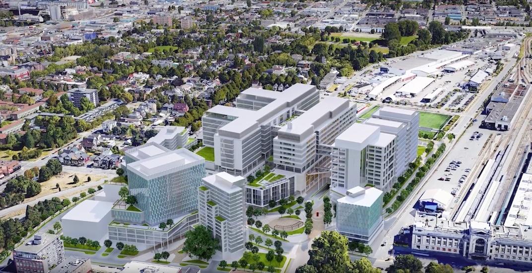 St pauls hospital new false creek flats 2