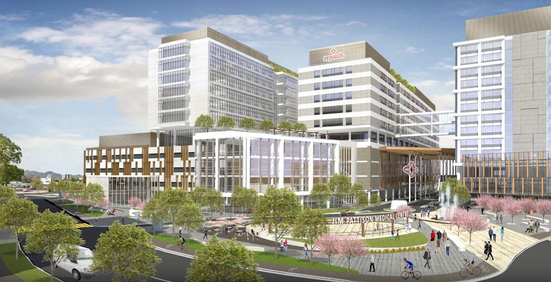 Bidding process launched to build new $1.9-billion St. Paul's Hospital