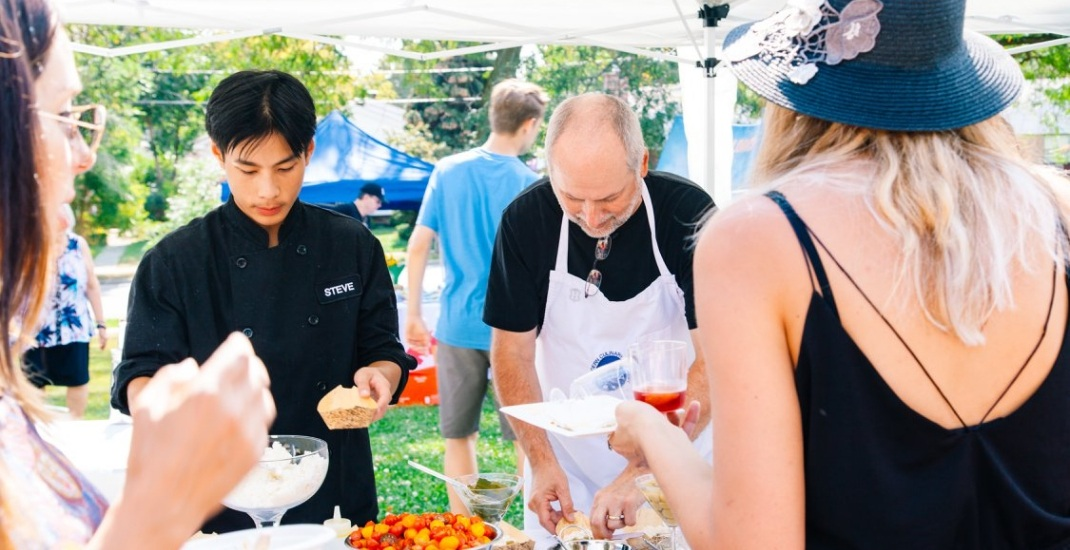 This Chef's Harvest Party pops up in an organic garden this month