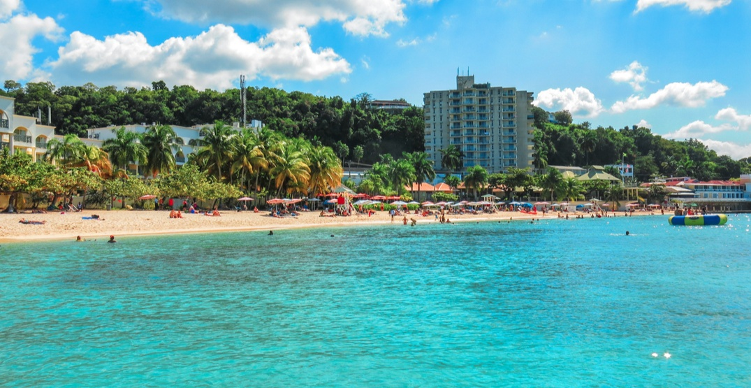 You can fly to Montego Bay, Jamaica for under $300 return this winter