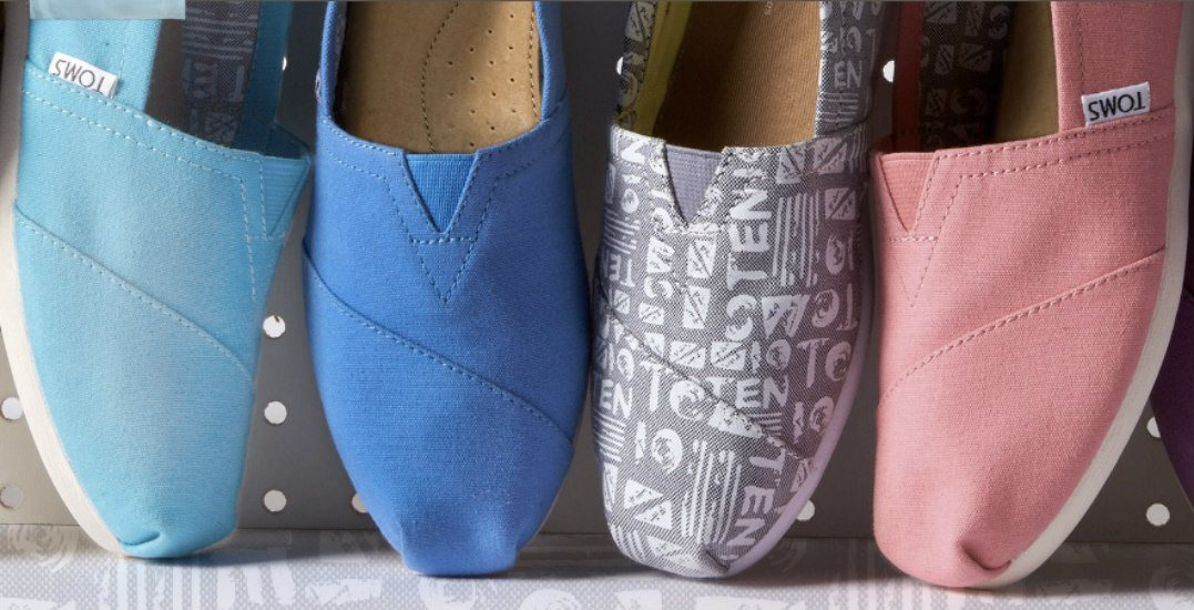 Save up to 70% at the massive TOMS warehouse sale in Calgary