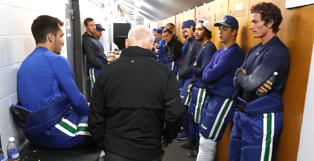 New Canucks player Roussel suffers concussion before first practice of the season