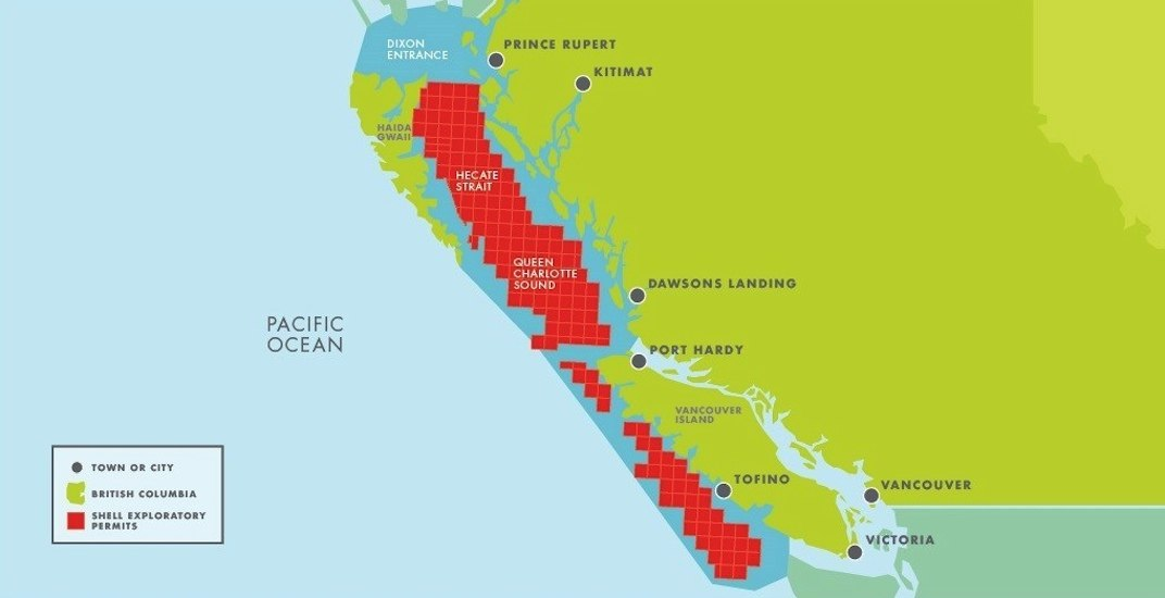 Shell gives up 50,000-sq-km of coastal BC to create protected area