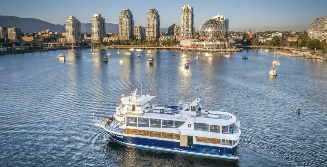Experience Vancouver like never before (for FREE) on this dinner cruise