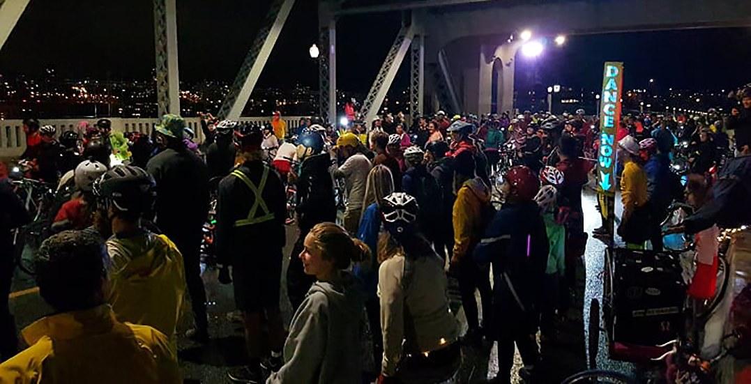 A dance party took over the Burrard Street Bridge last weekend (VIDEO)