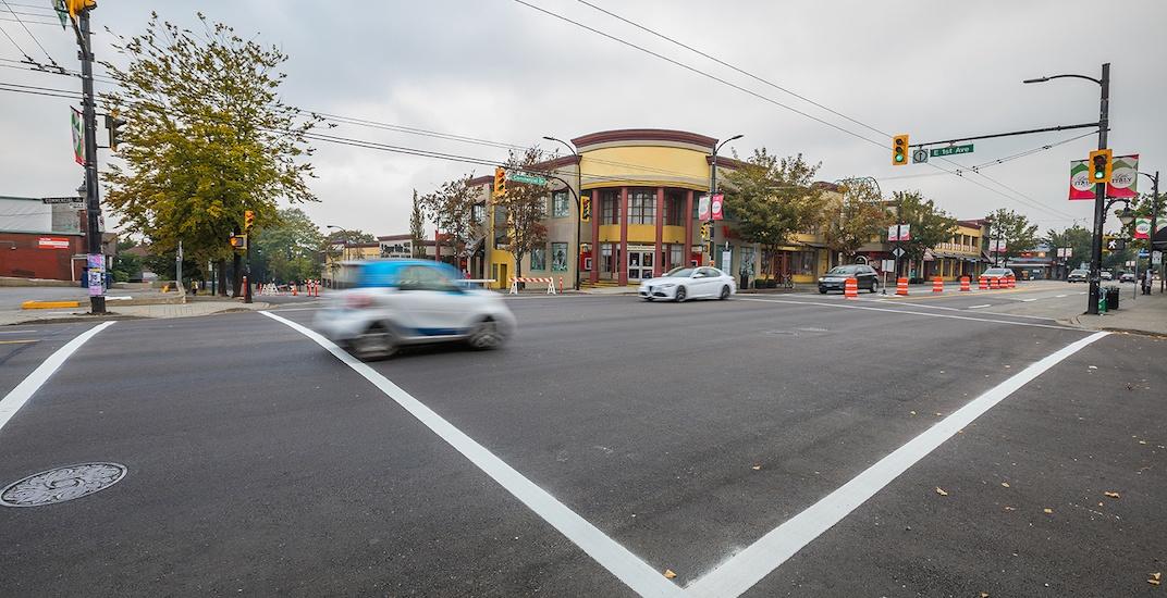 Commercial Drive East 1st Avenue