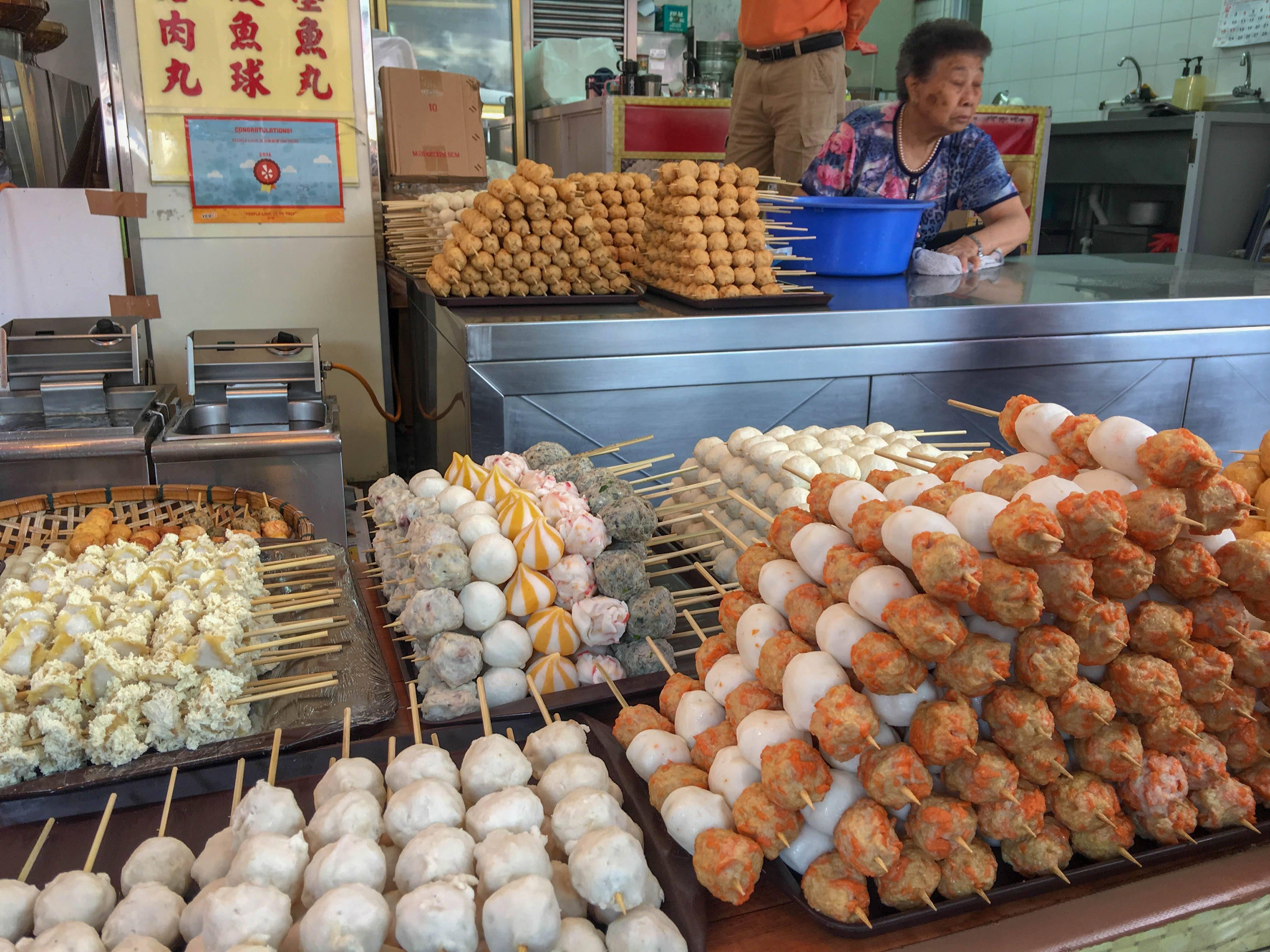 Fish Ball Skewers, Cheung Chau (Alvin Hartono)