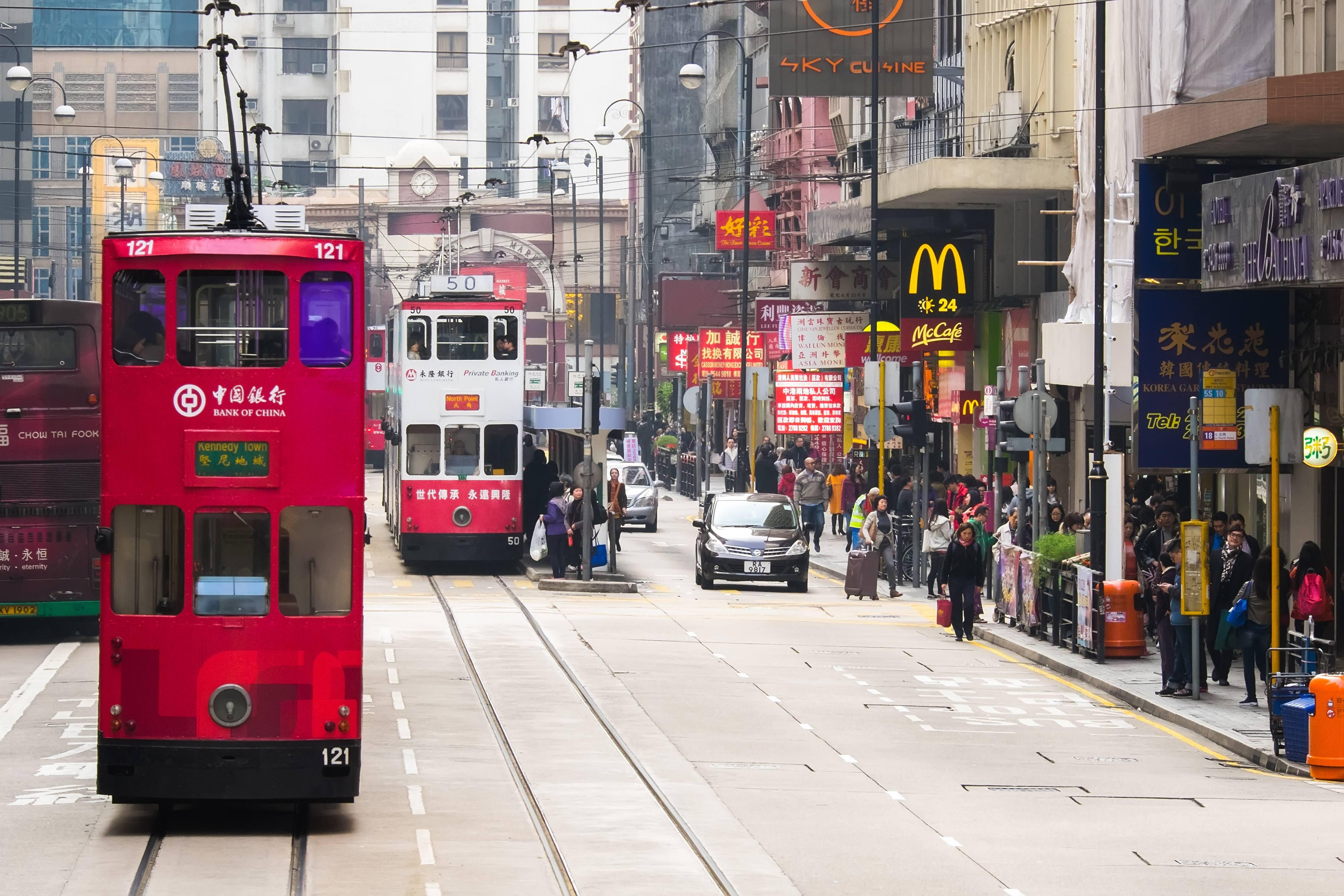 The Ding Ding Tram, Wan Chai (Shutterstock)