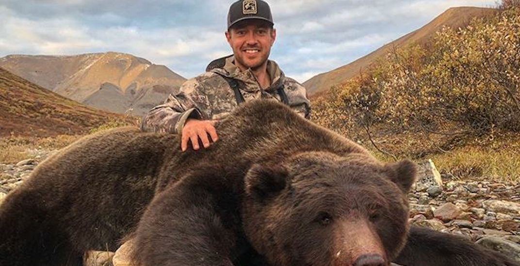 Ex-NHLer sparks outrage after posting photos of grizzly bear he killed