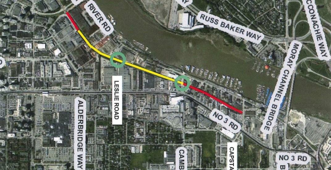 Richmond is building a new 4-lane arterial roadway through its city centre