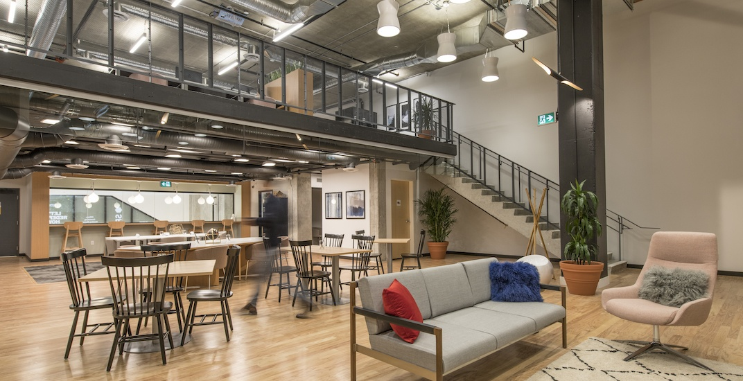 Spaces opens its first Vancouver co-working office in Gastown (PHOTOS)