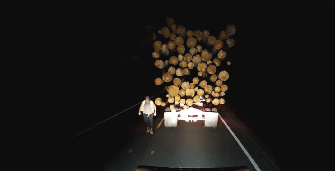 Dashcam footage captures explosive road rage incident on BC highway (VIDEO)