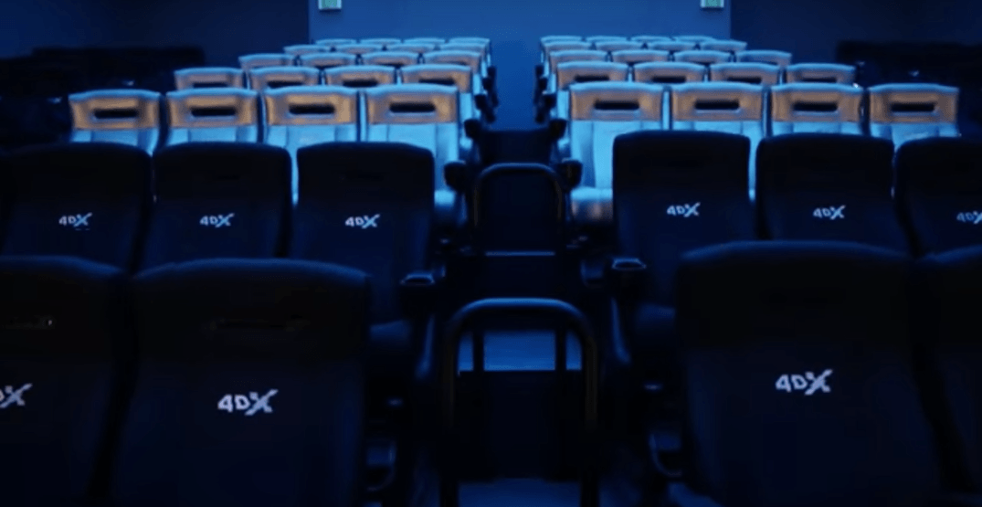 There's an epic 4D movie theatre coming soon to Calgary