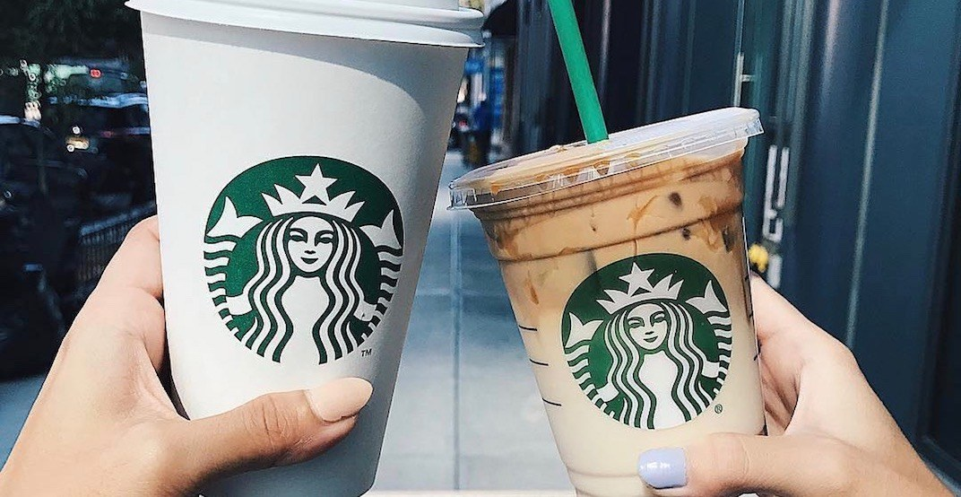 Starbucks is offering buy-one-get-one FREE drinks tomorrow