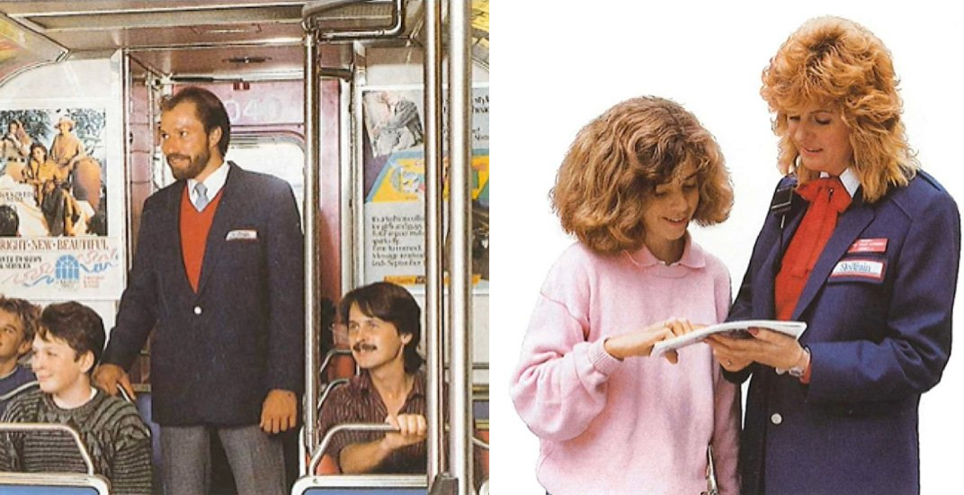 Spotted on Reddit: These were once the uniforms of SkyTrain attendants