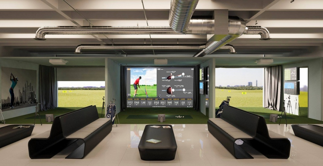 A new VR golf lounge is opening in Toronto next month