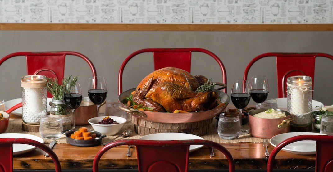 Where to get easy Thanksgiving Dinner to go in Vancouver