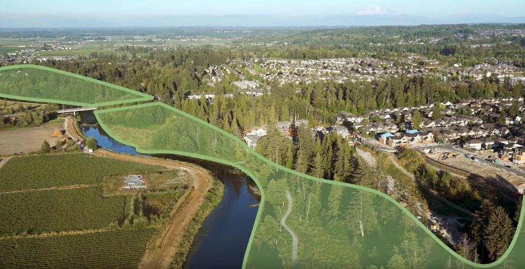 Huge new linear riverfront park proposed for Surrey