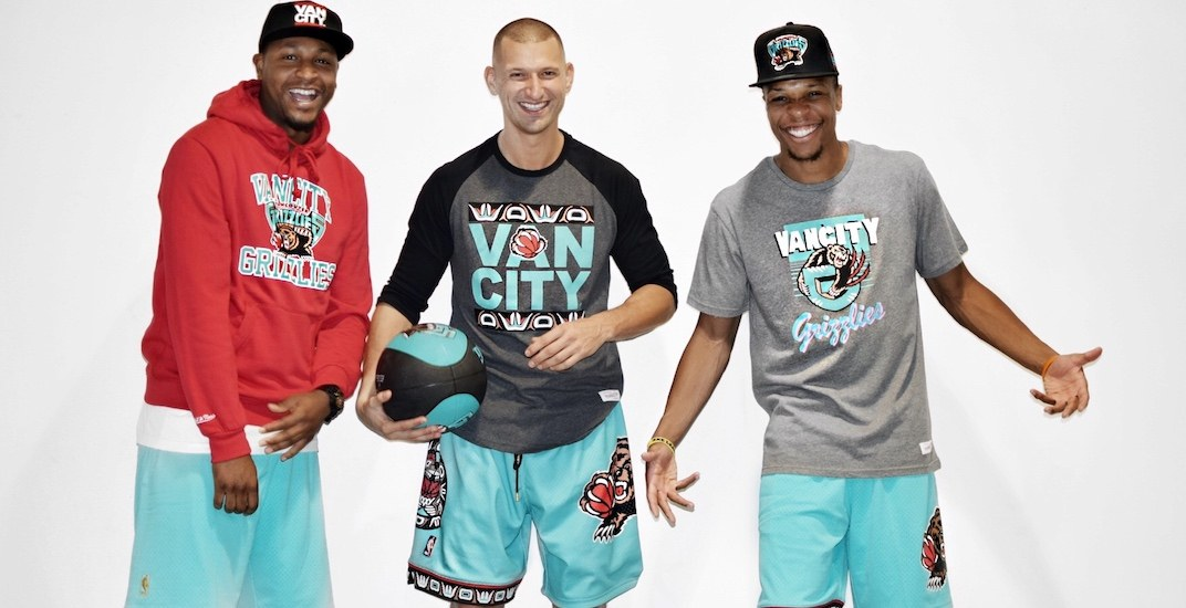 Vancity Original just launched a sick new Vancouver Grizzlies collection (PHOTOS)
