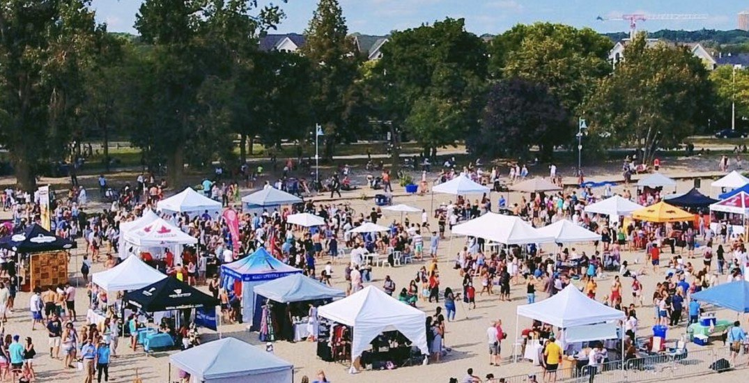 There's a huge festival at the Toronto Beaches this weekend