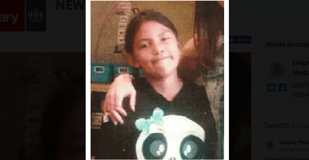 Police searching for missing 11-year-old girl in Calgary