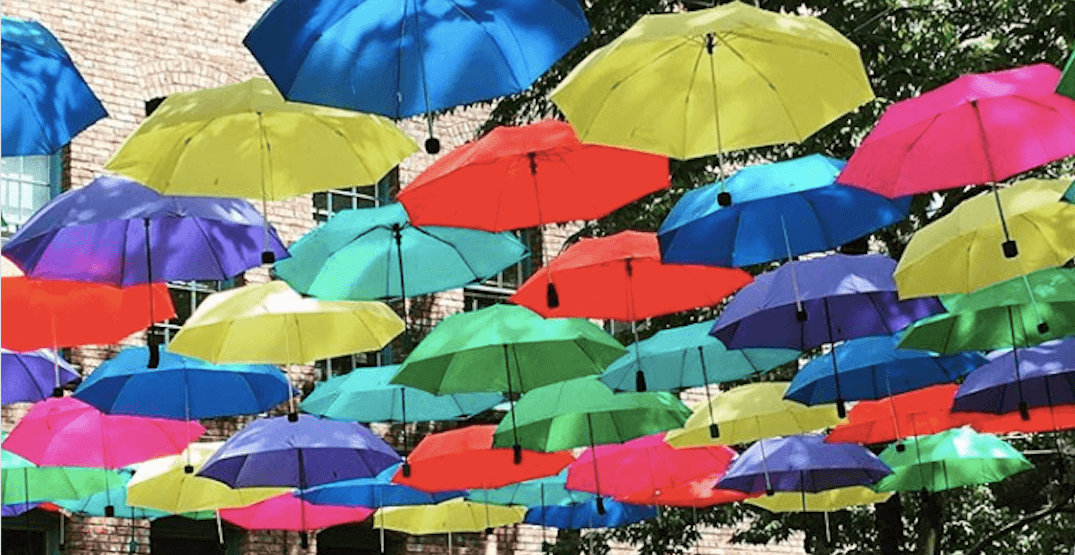 This is your last chance to see those colourful umbrellas in Yaletown