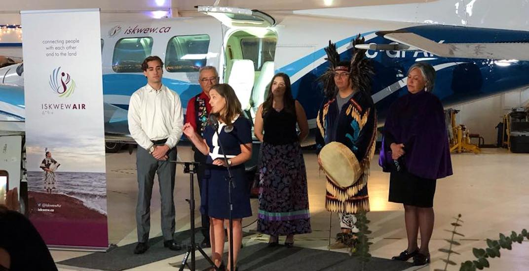 Canada's first Indigenous woman-owned airline to launch from YVR