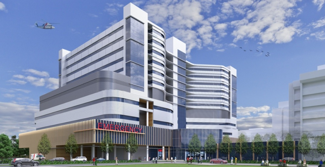 New acute tower with 229 beds to be built at New Westminster hospital