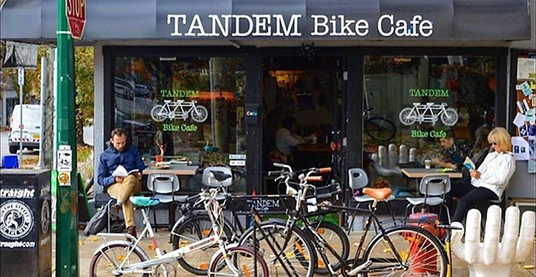 Vancouver's first bike cafe is closing its doors at the end of this month