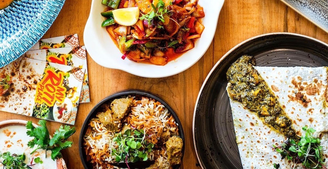 This new Toronto eatery is giving out FREE roti this week