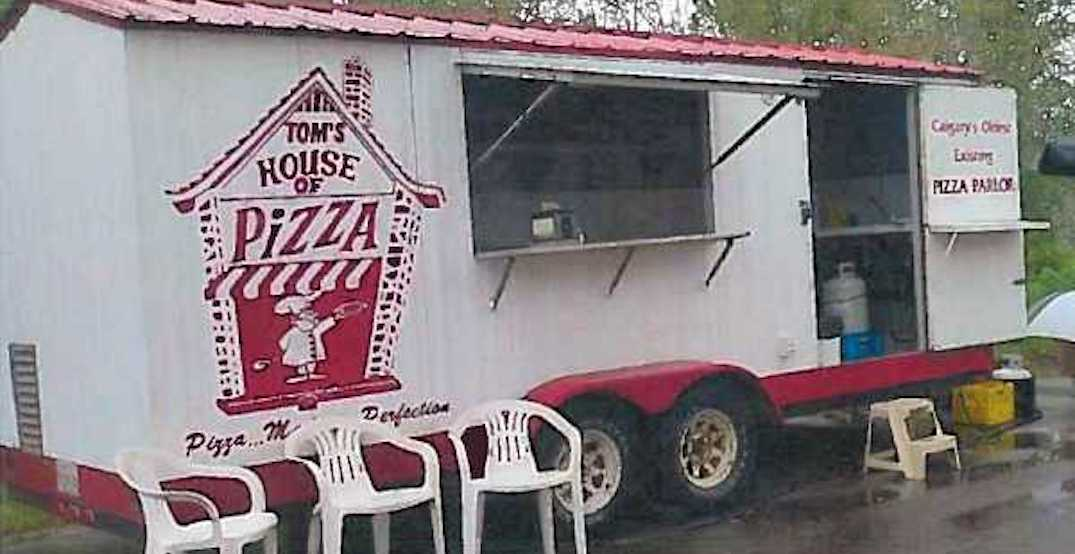 Alberta police searching for stolen pizza trailer in Okotoks