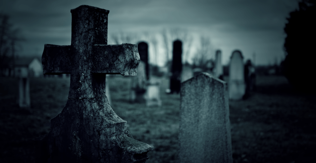 Walk among ghosts during these after-dark graveyard tours in Metro Vancouver