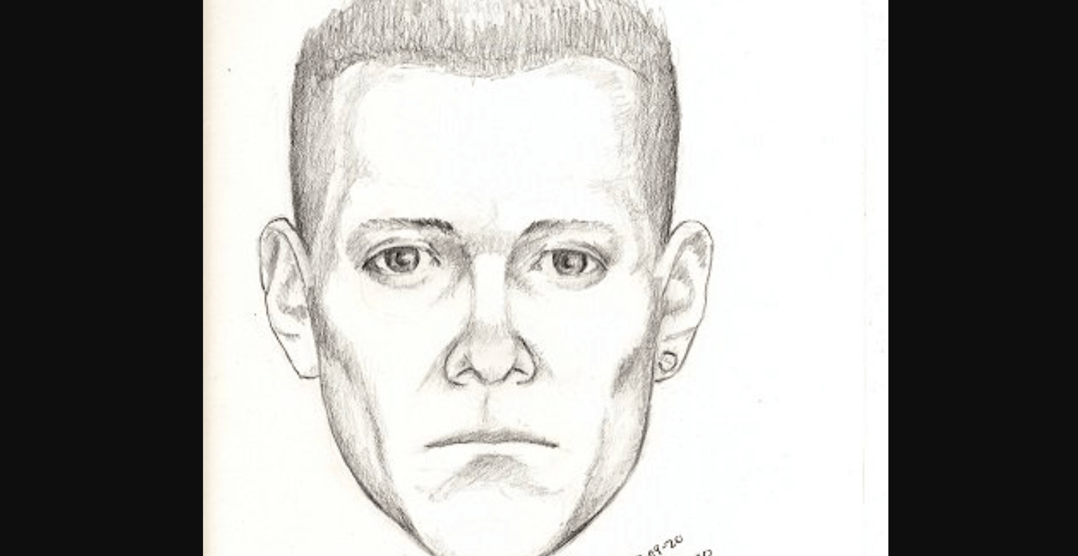 Sketch released of man allegedly masturbating in UBC woman's washroom