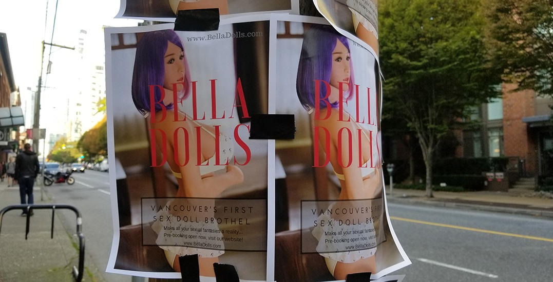 A new sex doll brothel could be opening in Vancouver soon