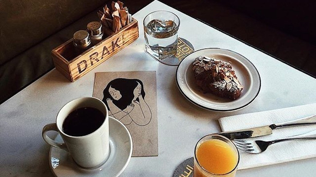 You can get FREE coffee from The Drake next week