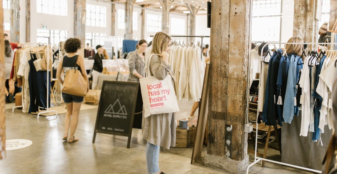 See the fabulous finds at the Fall for Local market this weekend