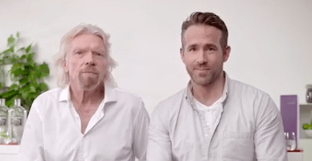 Ryan Reynolds wants to merge his gin company with Virgin Atlantic (VIDEO)