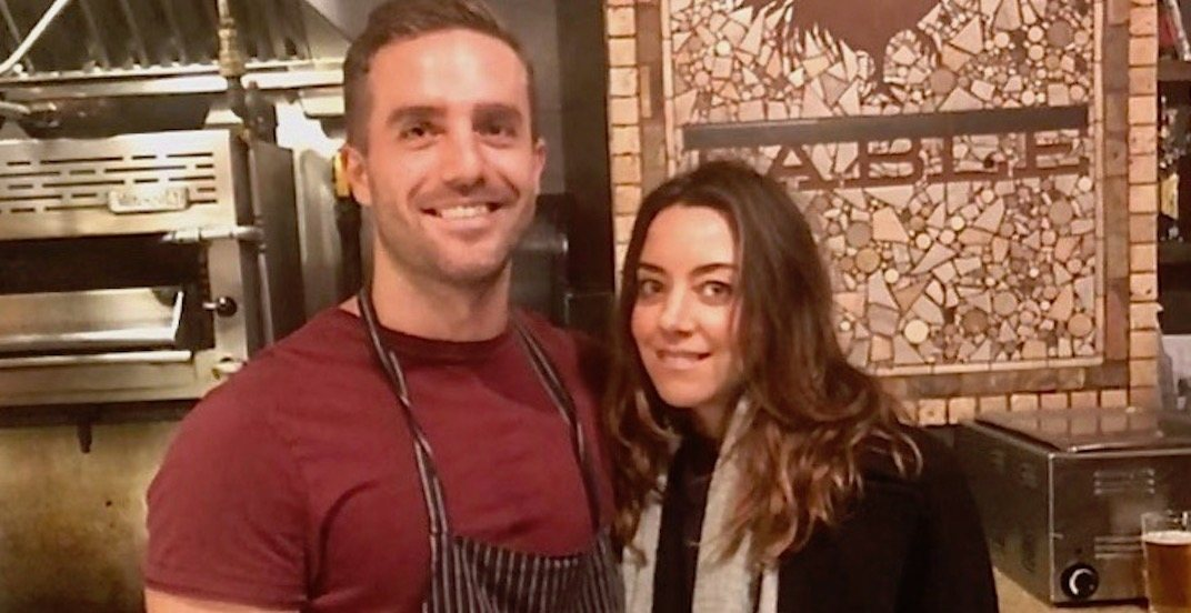 Aubrey Plaza was just spotted at this popular Vancouver restaurant