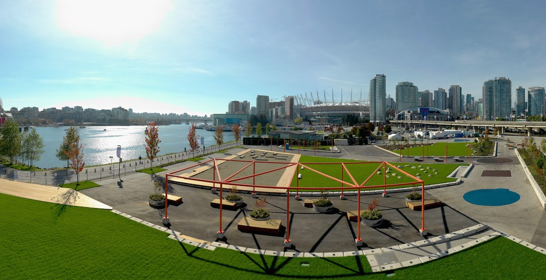 Concord Community Park Northeast False Creek Vancouver