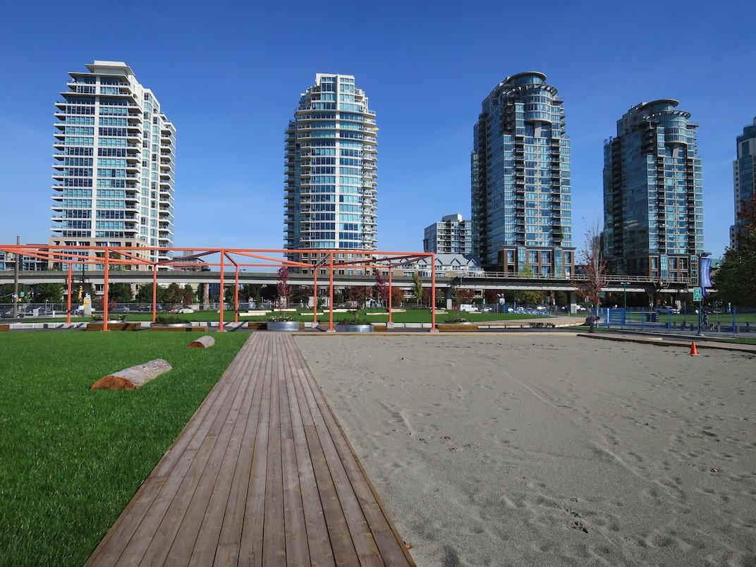 Concord Community Park Northeast False Creek Vancouver