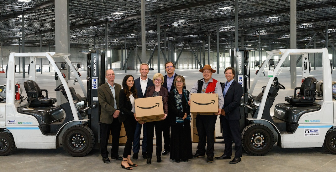 Amazon to open massive 450,000-sq-ft warehouse in Metro Vancouver