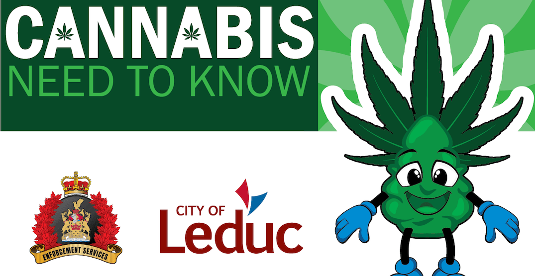 City of Leduc removes cannabis cartoon from public awareness campaign
